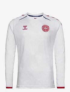 DBU 20/21 AWAY JERSEY L/S - football shirts - white