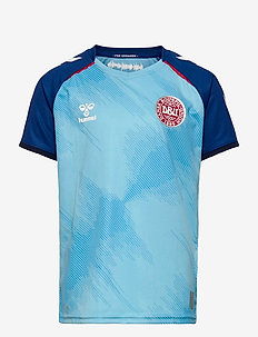 DBU 20/21 KIDS S/S GK JERSEY - fodboldtrøjer - blue