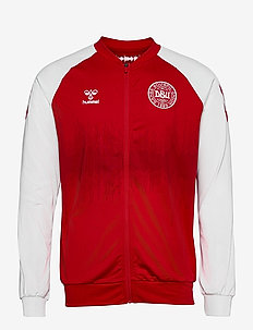 DBU 20/21 LINEUP ZIP JACKET - tops - tango red