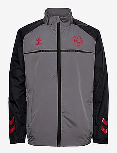 DBU PLAYER PRO TRAINING JACKET - sportsjakker - dark grey melange