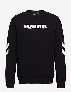 hmlLEGACY SWEATSHIRT - Överdelar - black