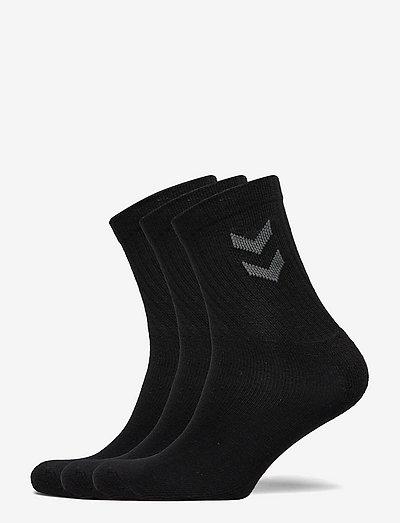3-Pack Basic Sock - almindelige strømper - black