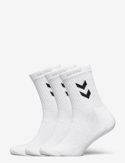 3-Pack Basic Sock - almindelige strømper - white