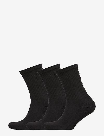 FUNDAMENTAL 3-PACK SOCK - almindelige strømper - black