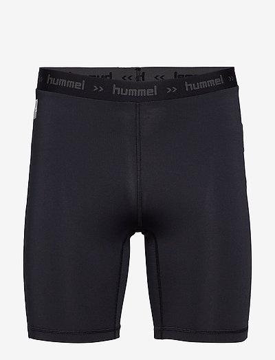 HML FIRST PERFORMANCE TIGHT SHORTS - training korte broek - black