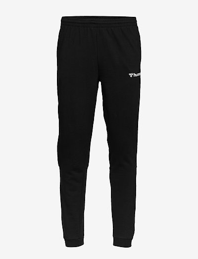hmlAUTHENTIC SWEAT PANT - trainingsbroek - black/white