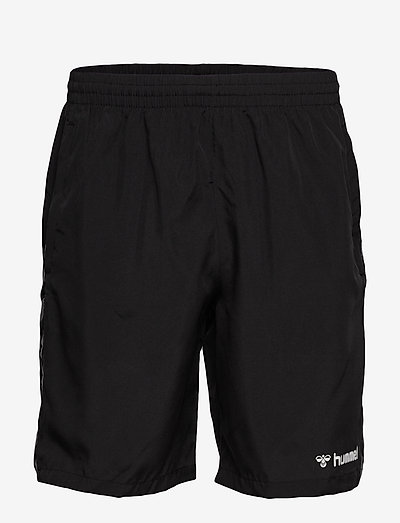 hmlAUTHENTIC TRAINING SHORT - training korte broek - black/white