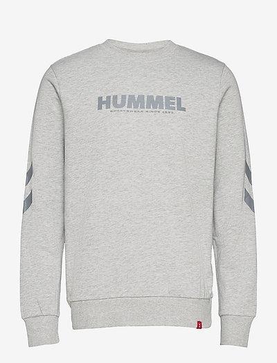 hmlLEGACY SWEATSHIRT - overdele - grey melange