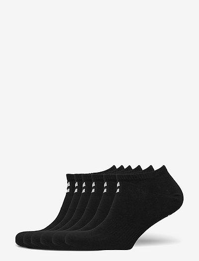 hmlCHEVRON 6-PACK ANKLE SOCKS - kousen - black