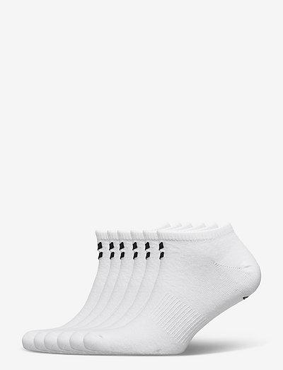 hmlCHEVRON 6-PACK ANKLE SOCKS - kousen - white