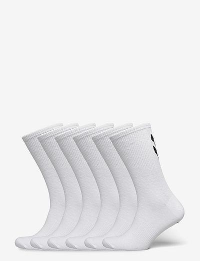 hmlCHEVRON 6-PACK SOCKS - kousen - white