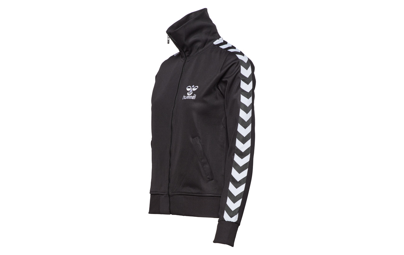 N 80 Atlanta Polyester 20 Jacket Hummel Tricot Black Coton Zip gold wadWnqCUt
