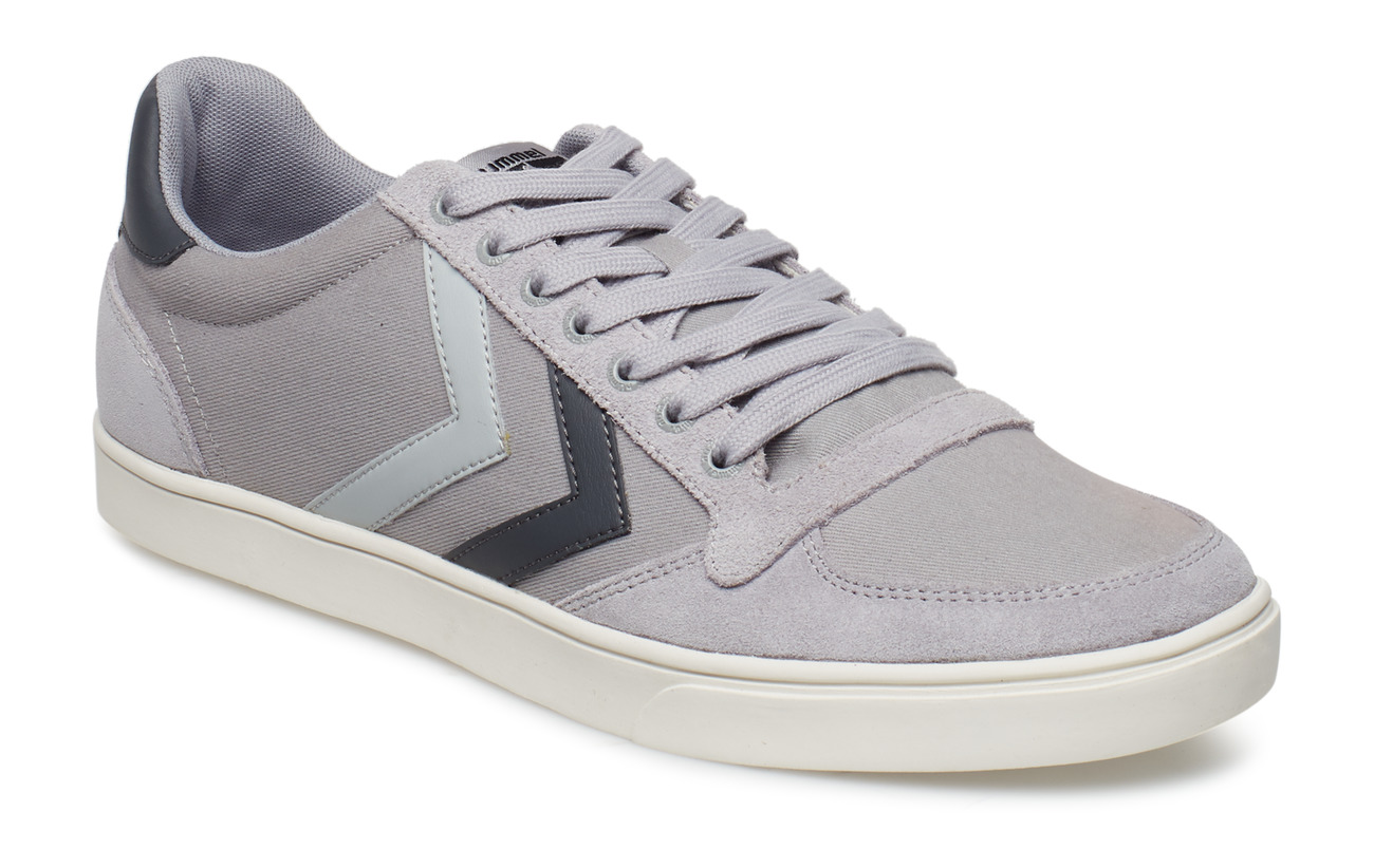 f3eb2726b35e Slimmer Stadil Duo Canvas Low (Alloy) (£41.60) - Hummel -