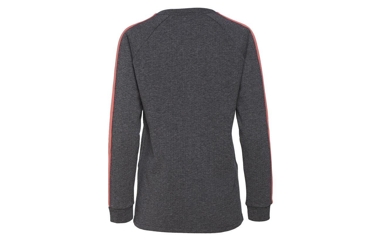 Viscose Polyester Équipement 65 Dark 35 Grey Hmlrovic Sweatshirt Hummel Melange nw0Z0qz7