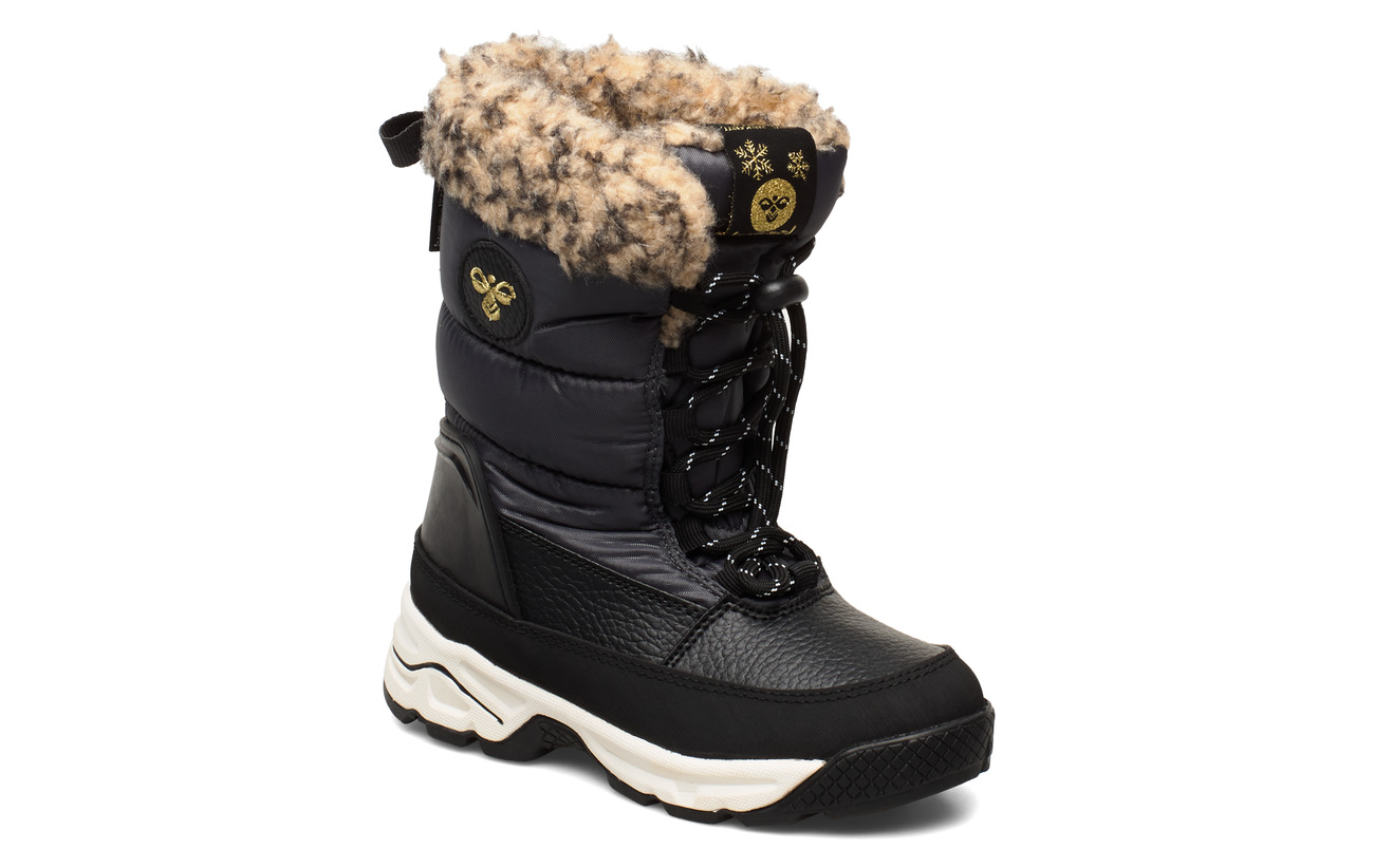 Hummel SNOW BOOT JR - ASPHALT