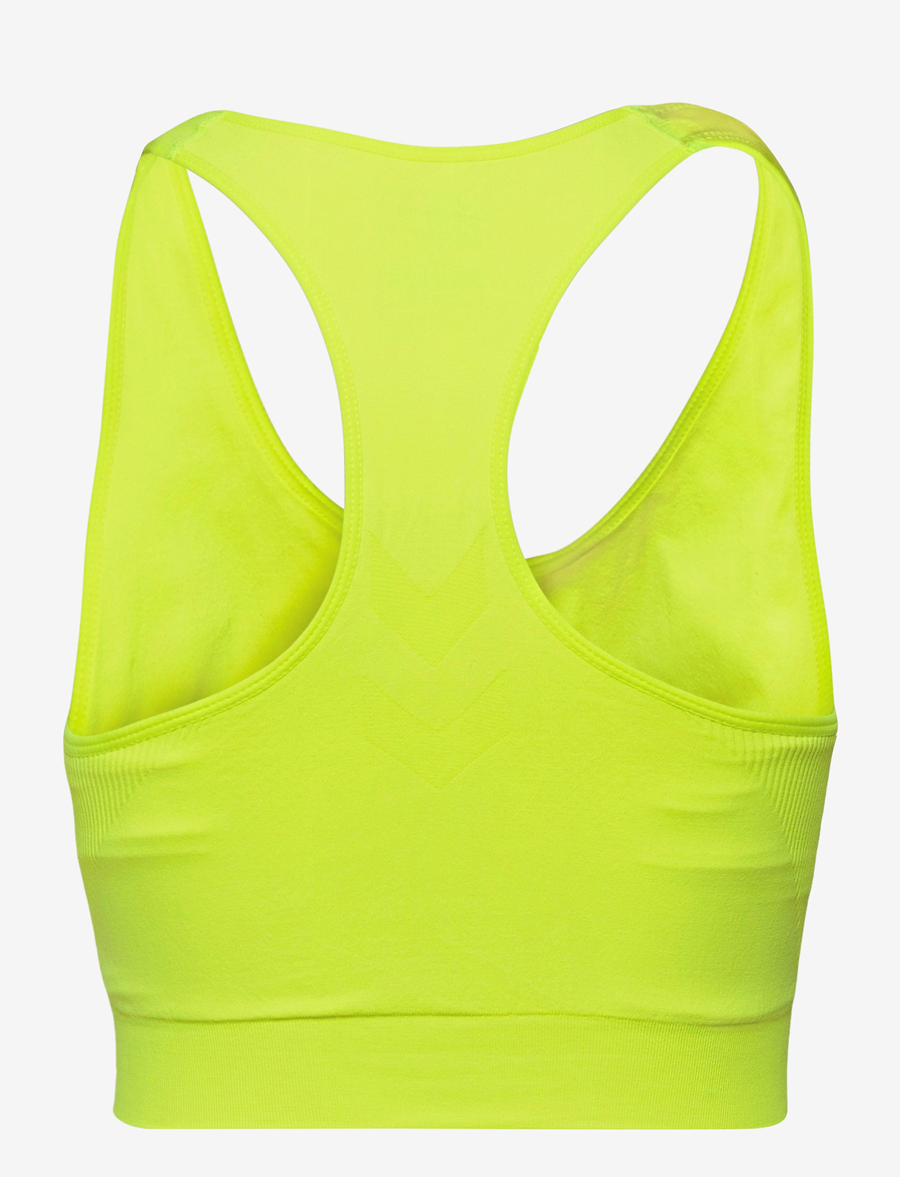 Hummel - SUE SEAMLESS SPORTS TOP - sportbeh''s: low - safety yellow - 1