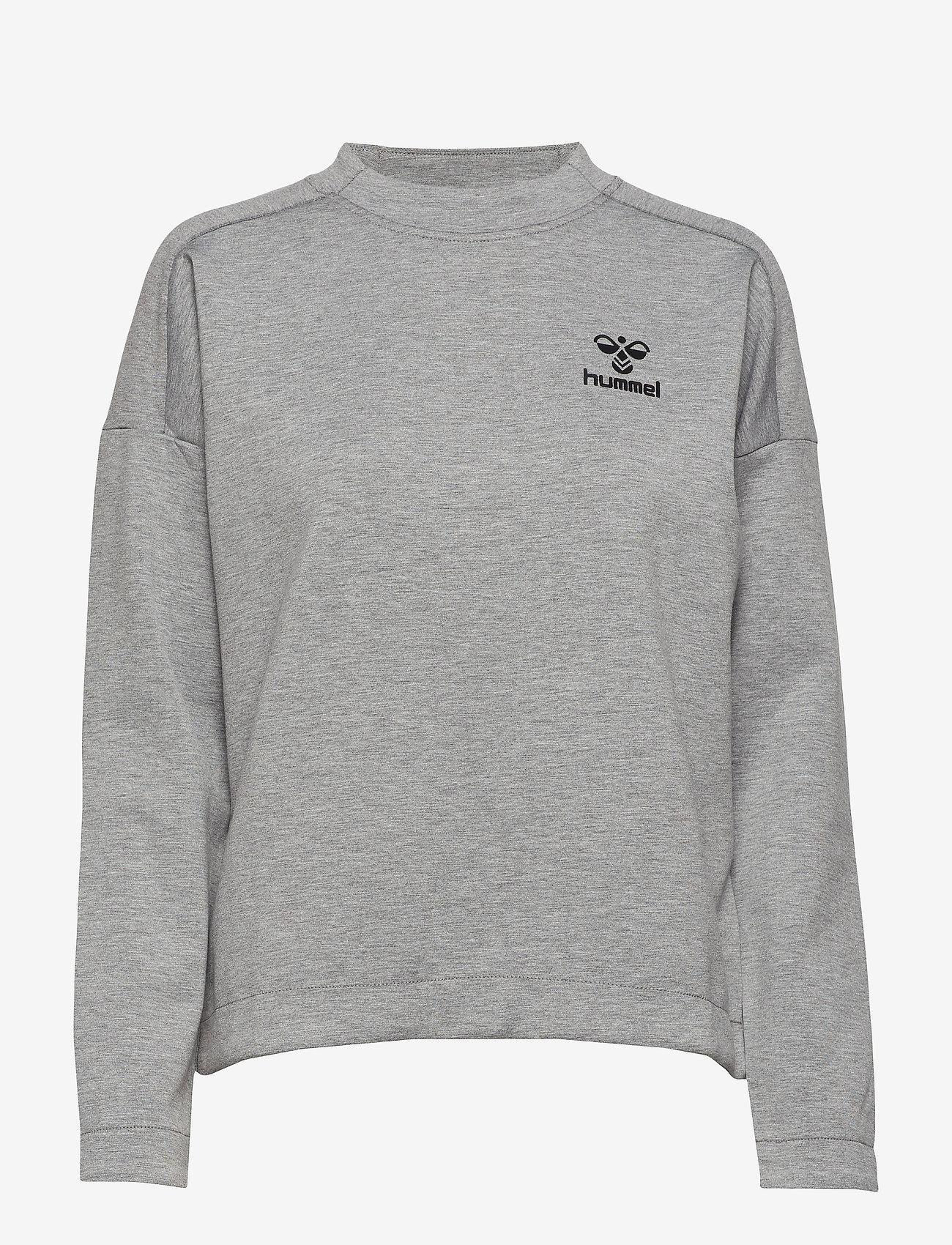 Hummel - CLASSIC BEE WO ZION SWEATSHIRT - sweatshirts - grey melange