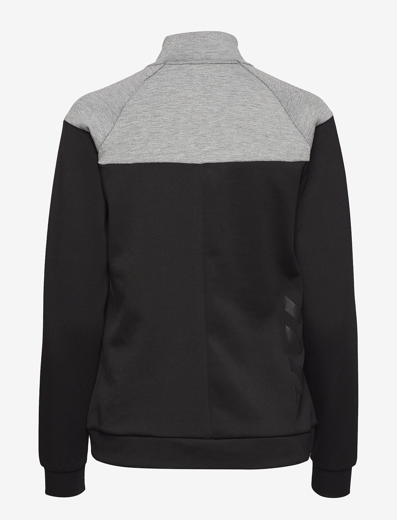 Hummel - CLASSIC BEE WO ZION ZIP JACKET - sweatshirts - black