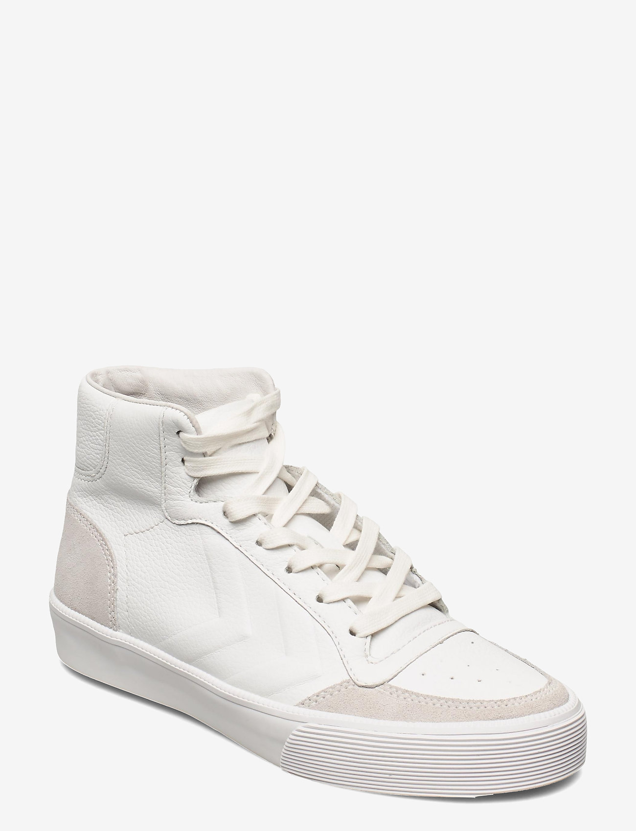Hummel - STADIL RMX HIGH SNEAKER - hoog sneakers - white - 0