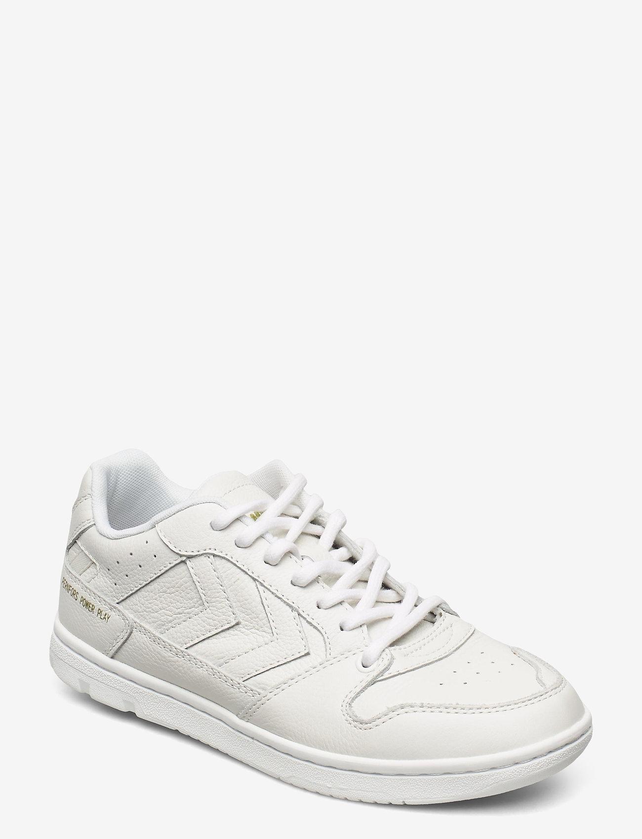 Hummel - POWER PLAY SNEAKER - laag sneakers - white - 1
