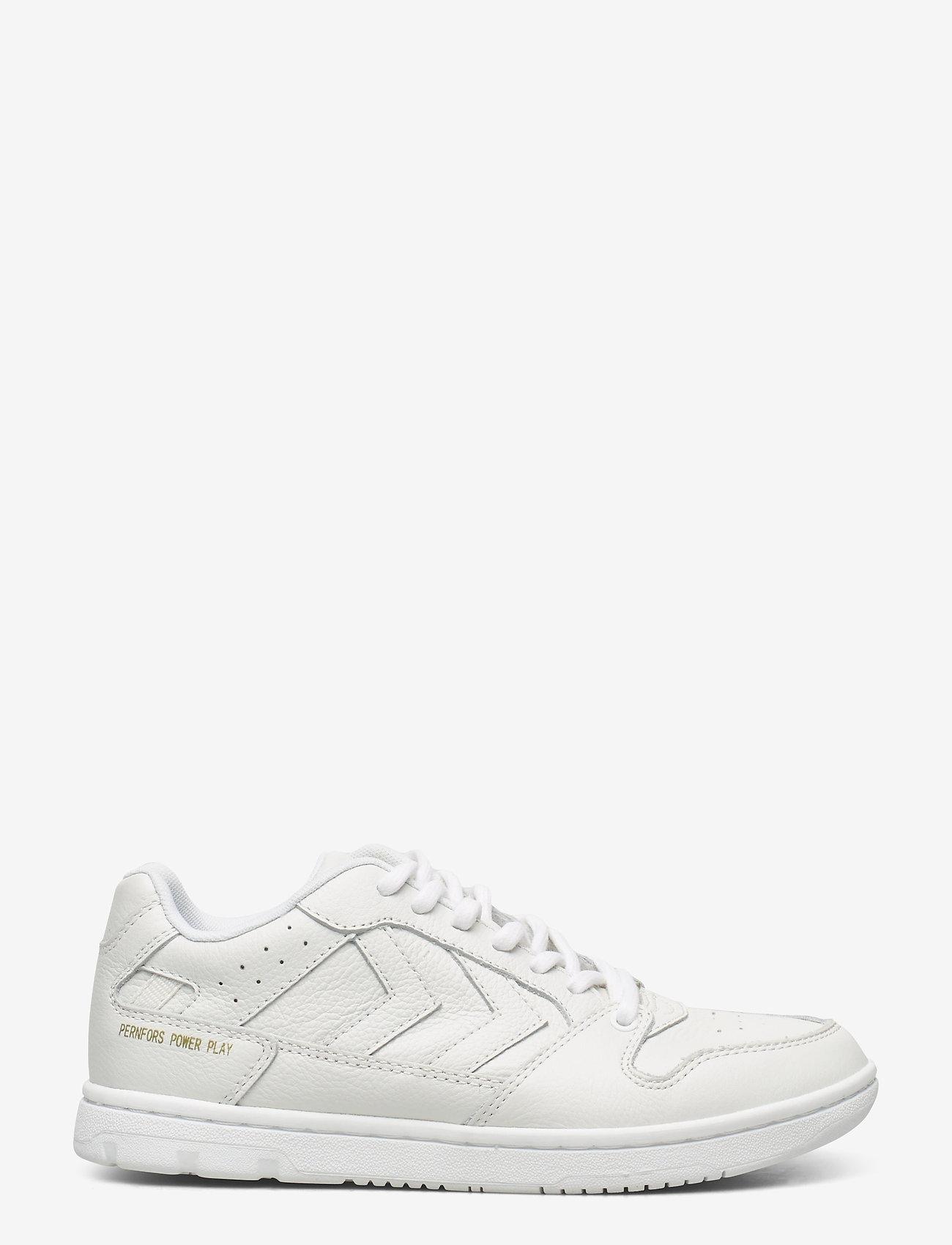 Hummel - POWER PLAY SNEAKER - laag sneakers - white - 0