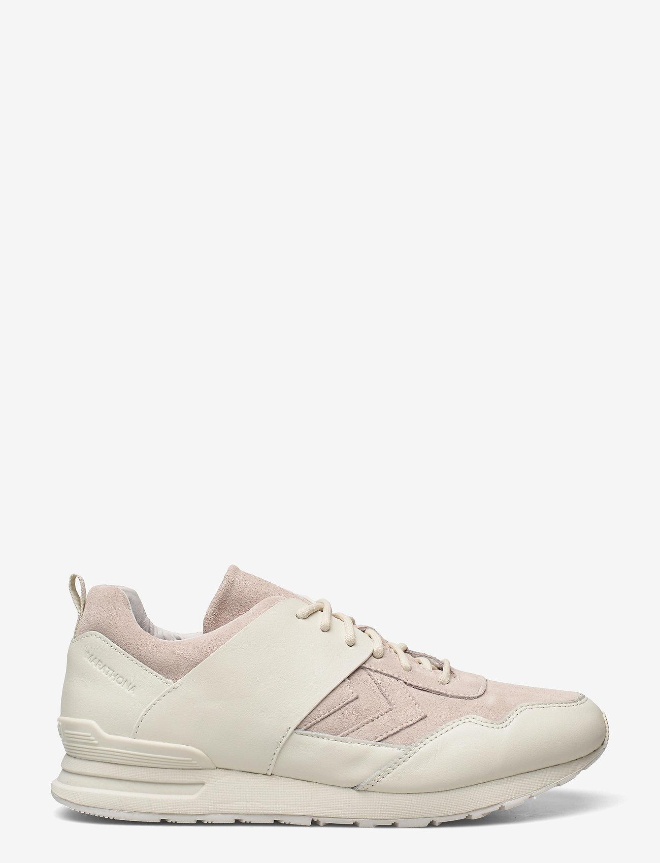 Hummel - MARATHONA 424 ATTACK - laag sneakers - off white - 0