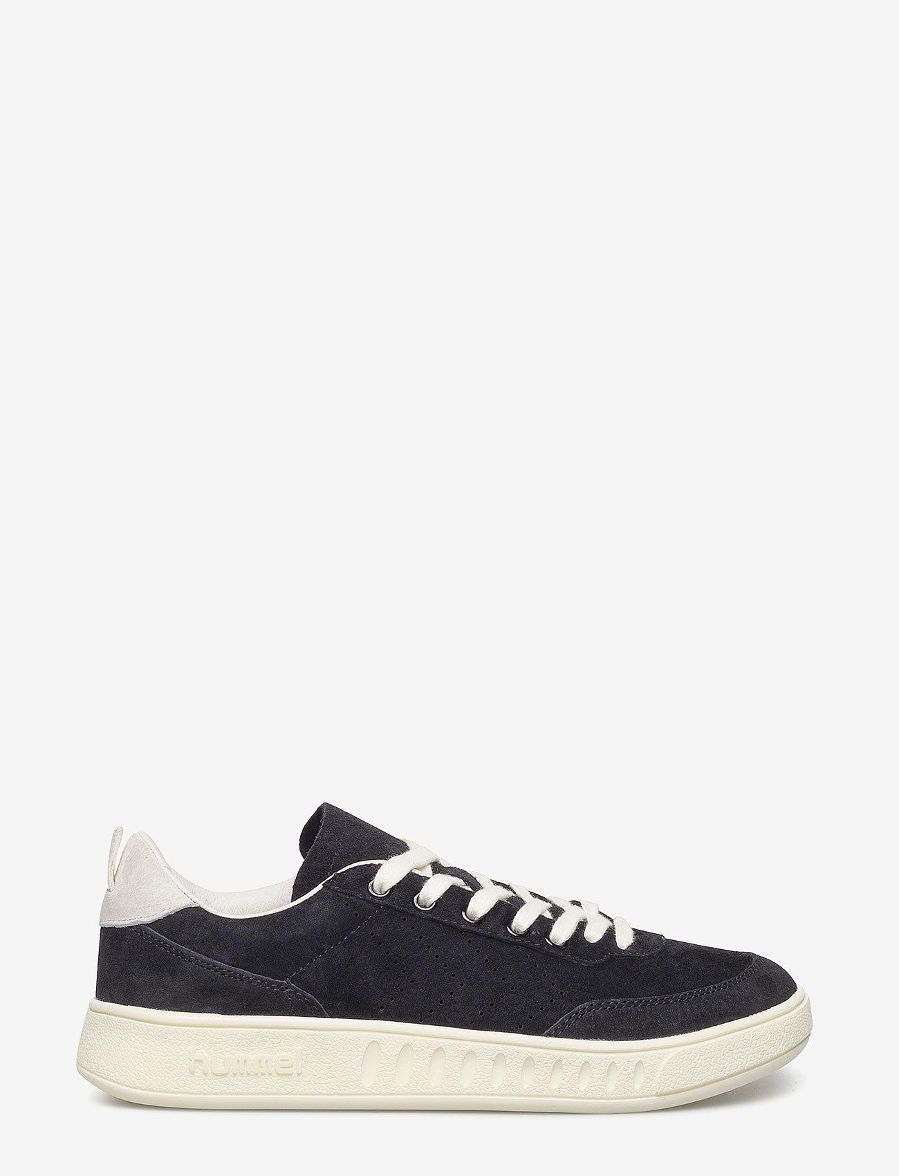 Hummel - SUPER TRIMM CASUAL - low top sneakers - black