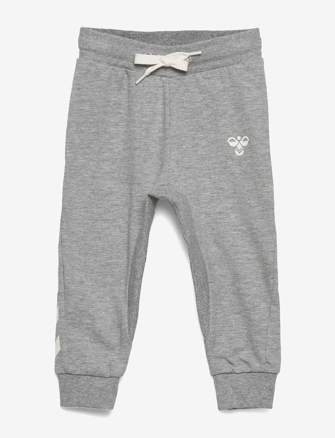 Hummel - HMLAPPLE PANTS - sweatpants - grey melange - 0