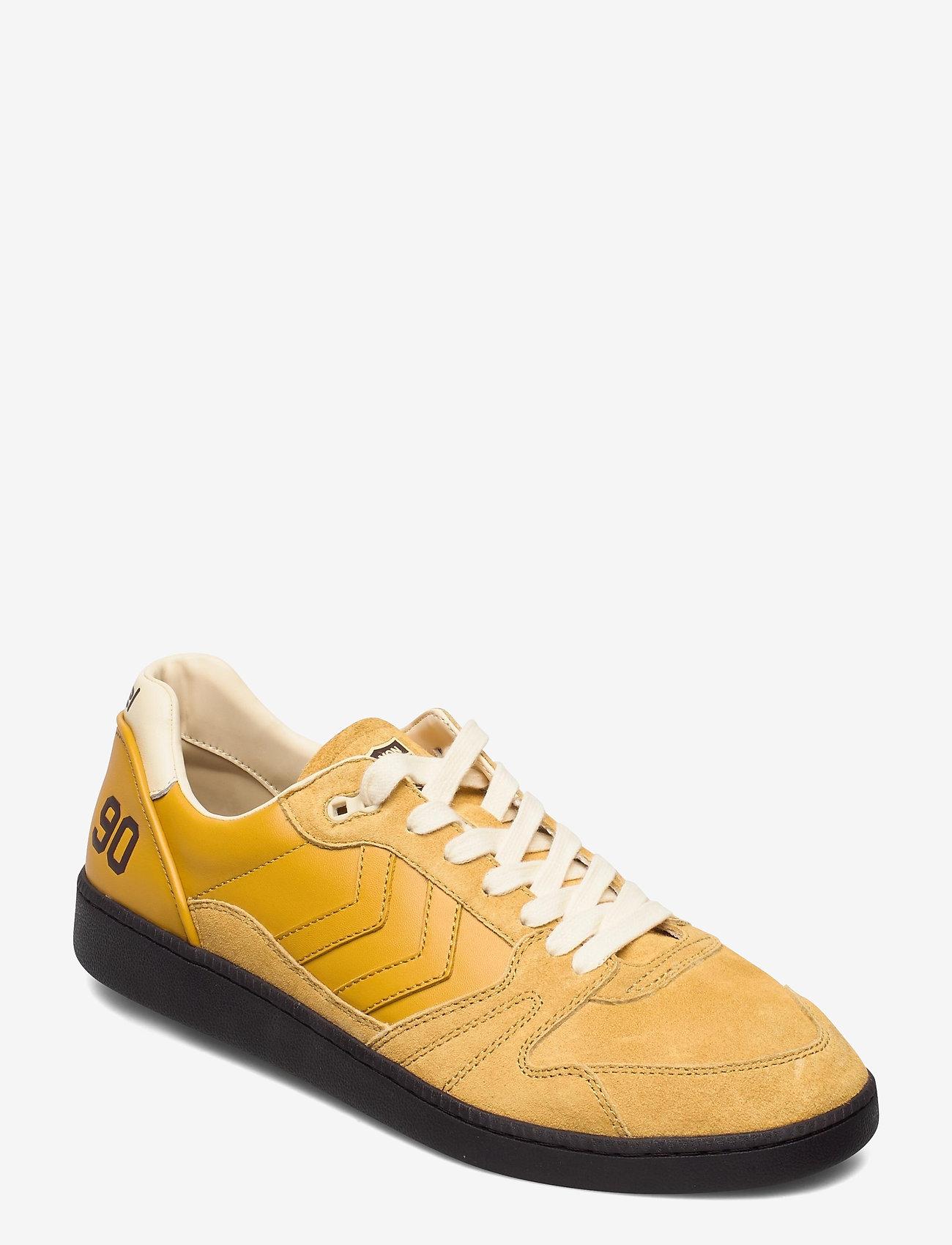 Hummel - HML x HANON HB TEAM - laag sneakers - golden yellow - 0