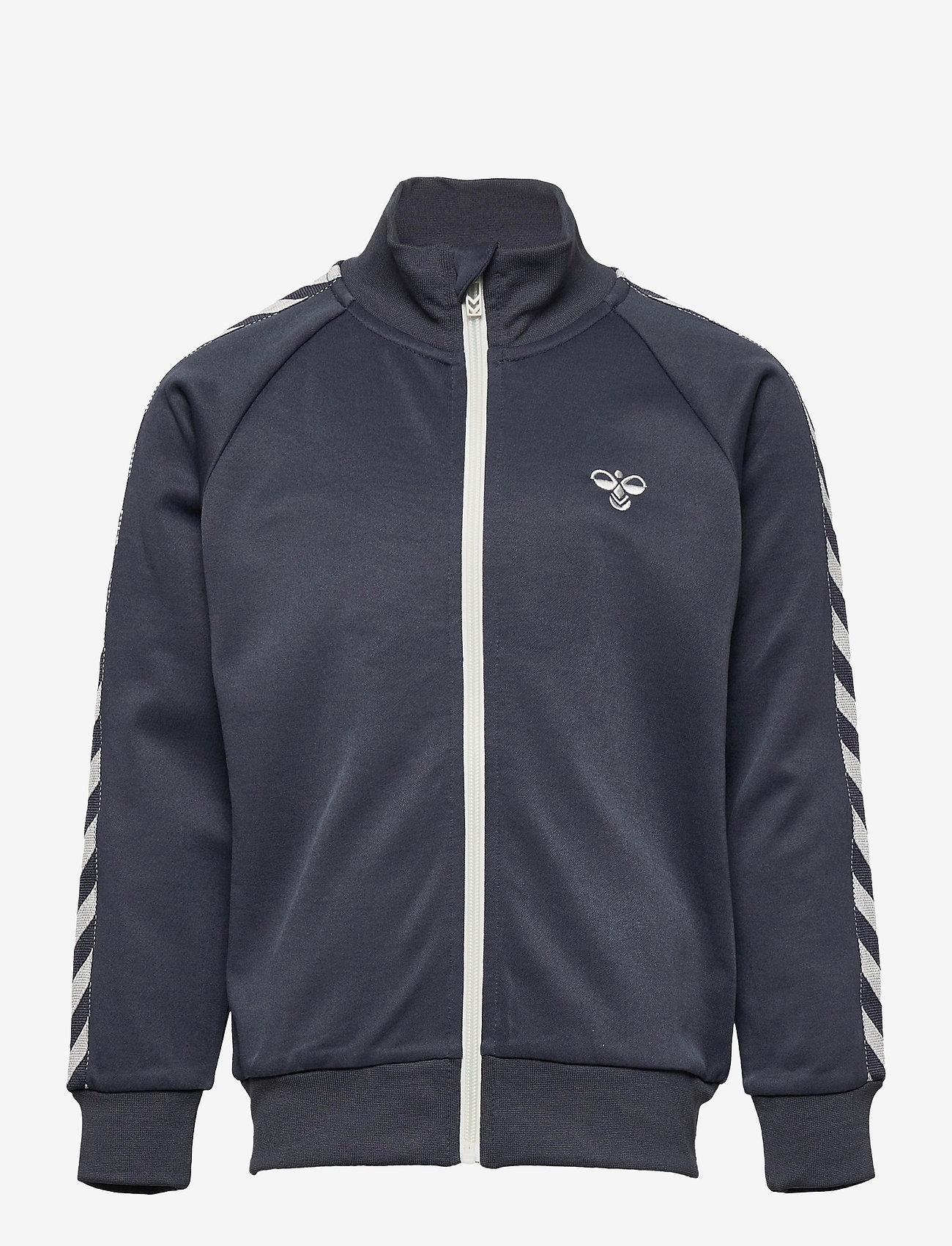 Hummel - HMLKICK ZIP JACKET - sweatshirts - ombre blue - 0