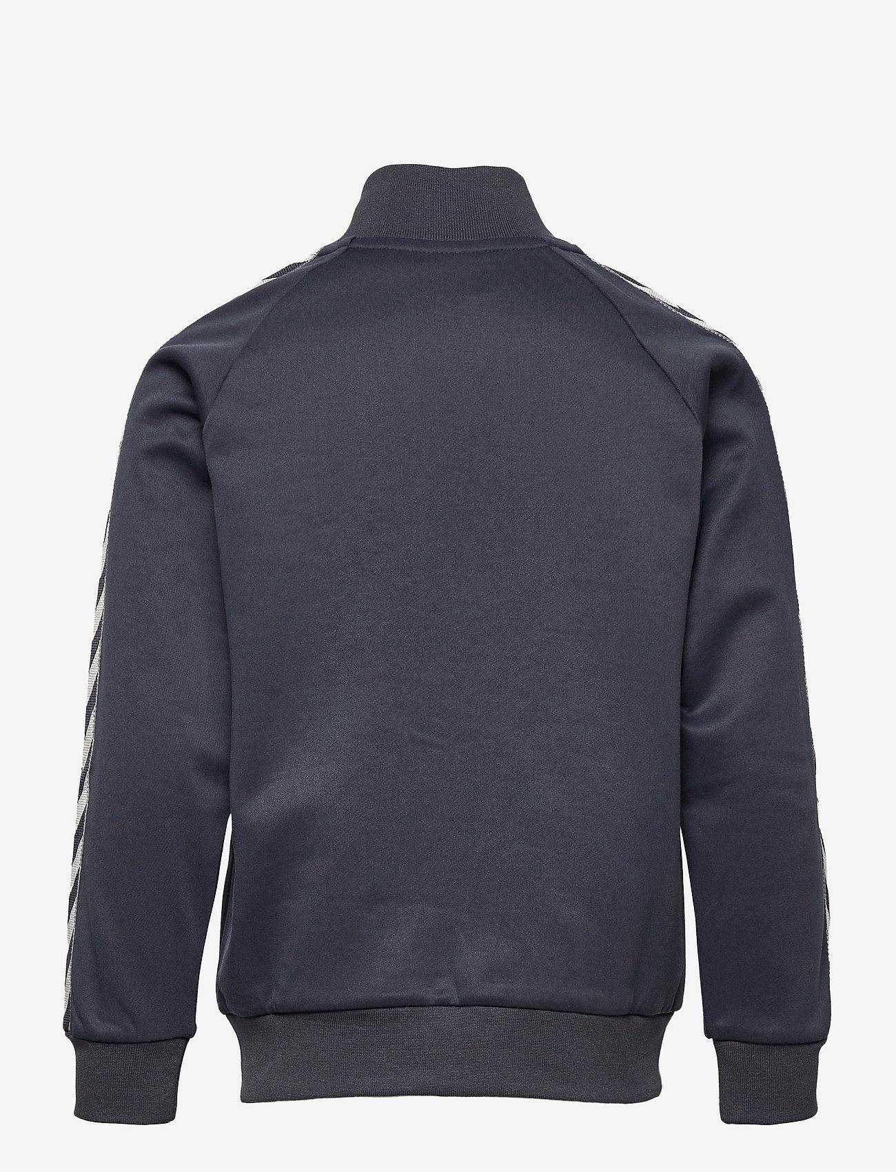 Hummel - HMLKICK ZIP JACKET - sweatshirts - ombre blue - 1