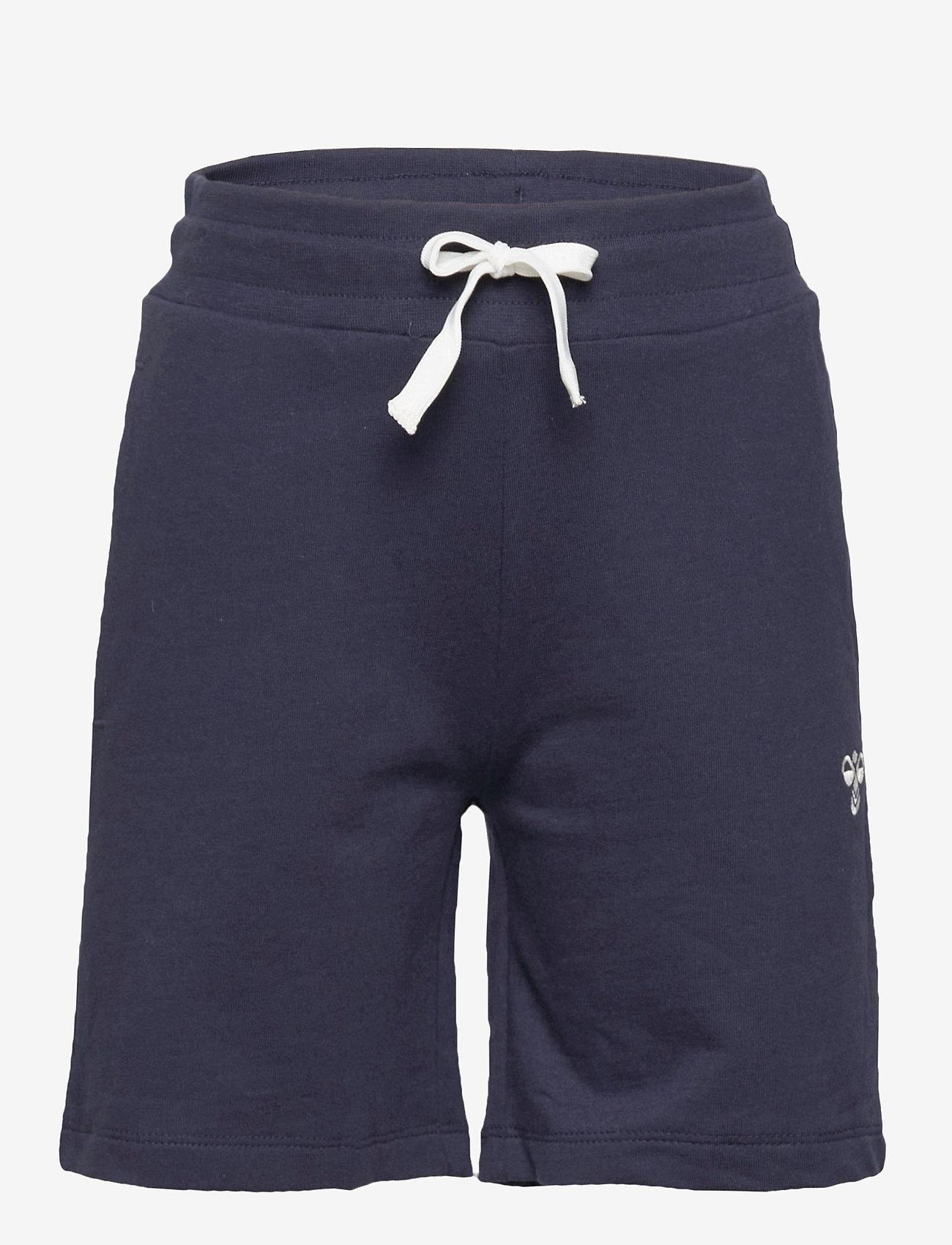 Hummel - HMLBASSIM SHORTS - shorts - black iris - 0