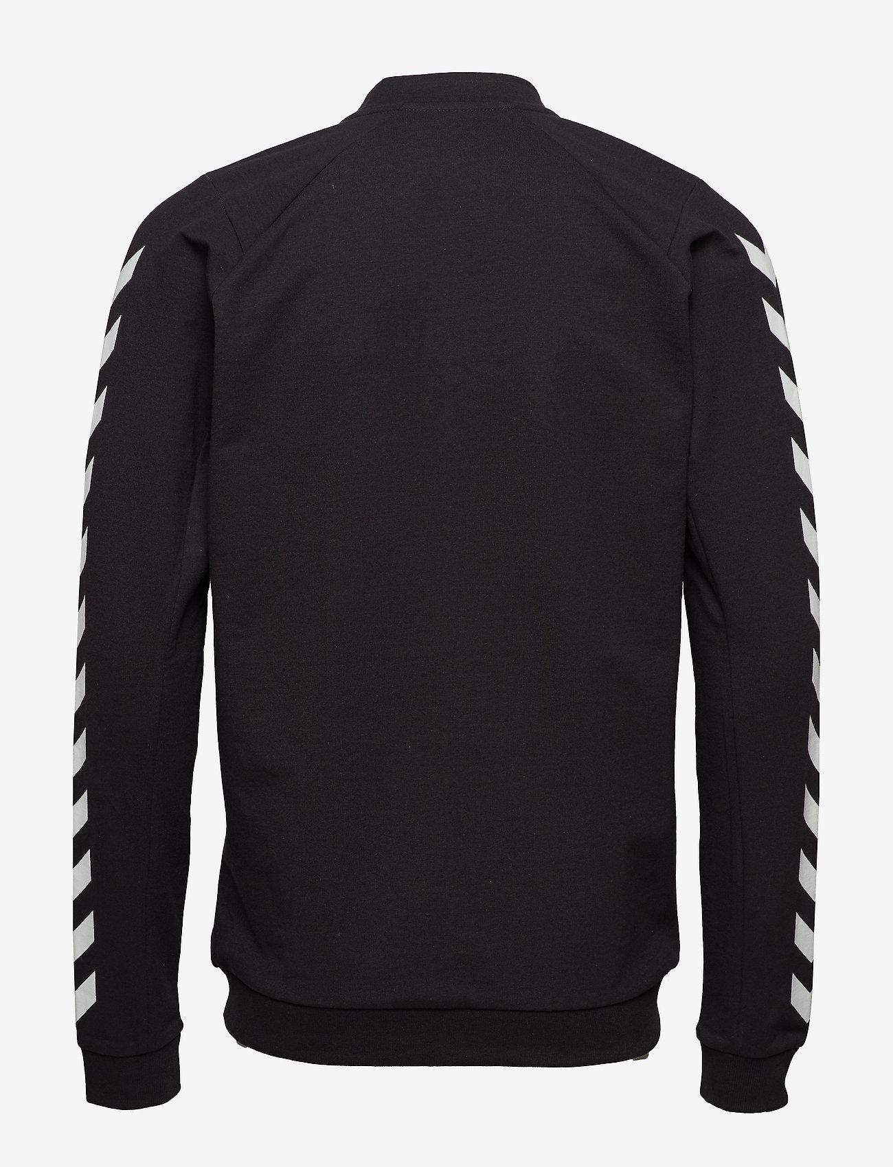 Hummel Hmlray Zip Jacket - Sweatshirts Black