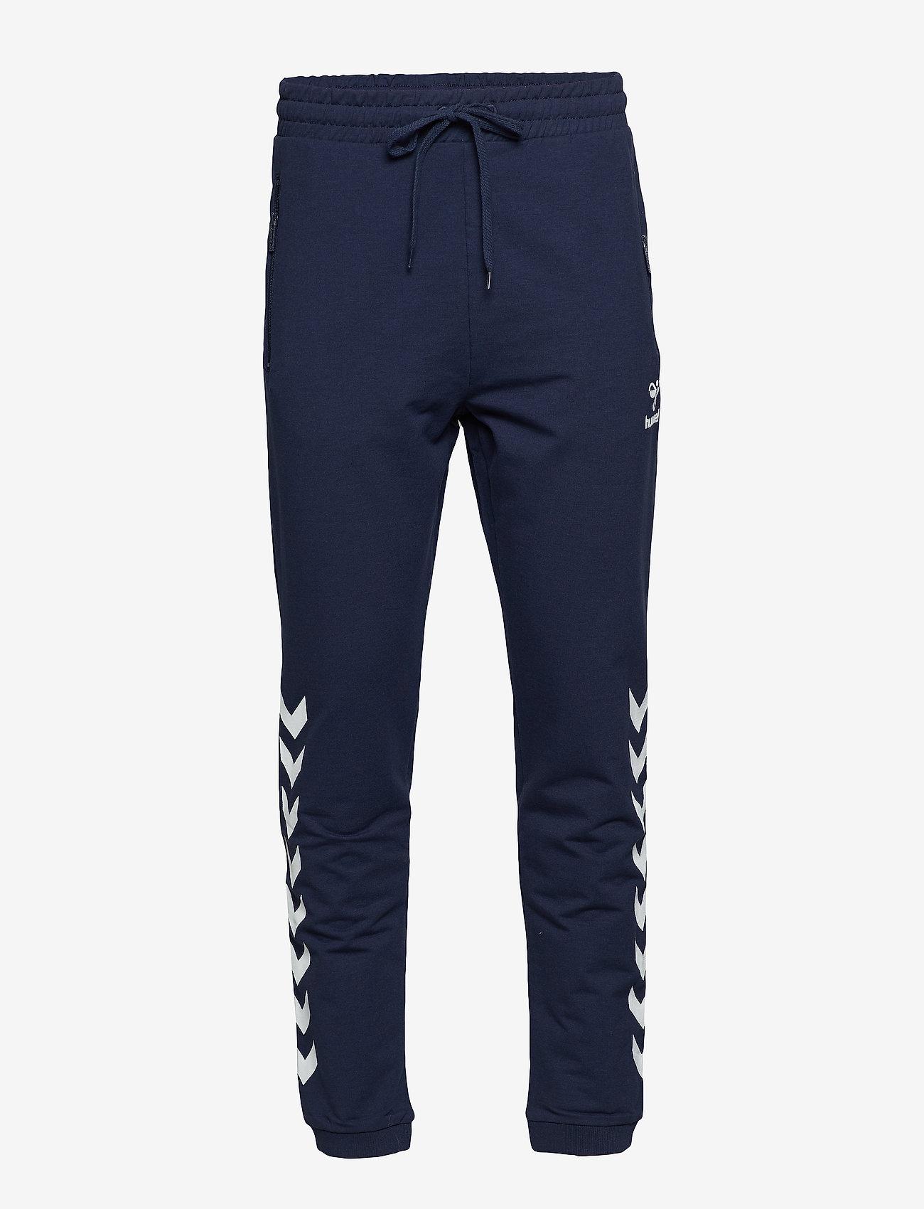 Hummel - HMLRAY PANTS - pants - black iris - 0
