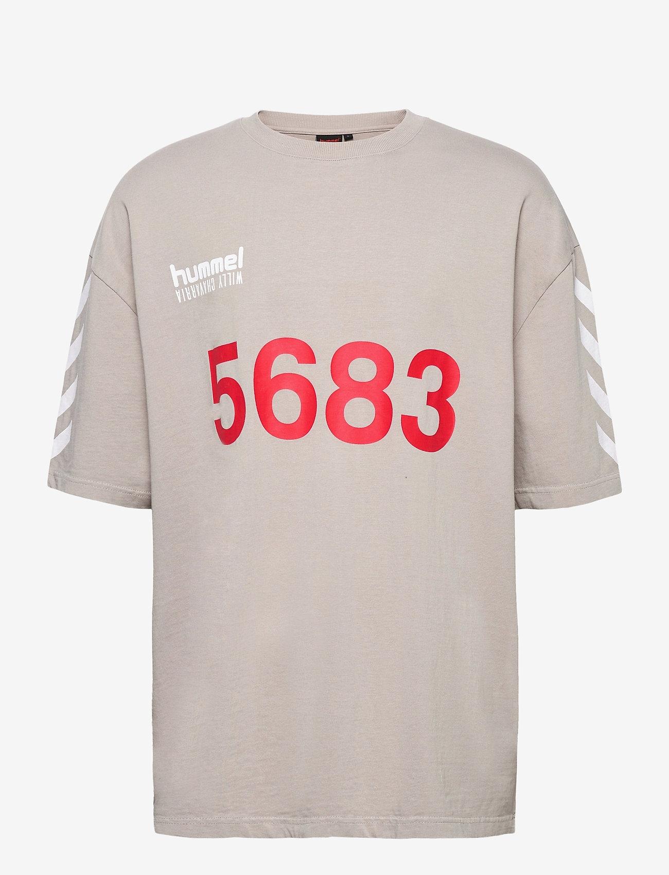 Hummel - hmlWILLY BUFFALO T-SHIRT S/S - t-shirts - paloma - 0
