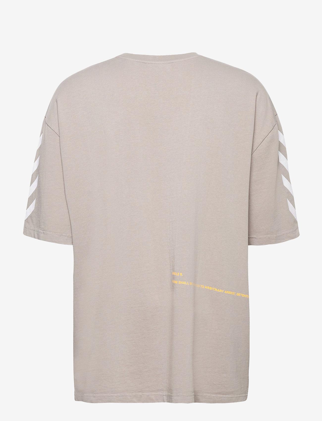 Hummel - hmlWILLY BUFFALO T-SHIRT S/S - t-shirts - paloma - 1