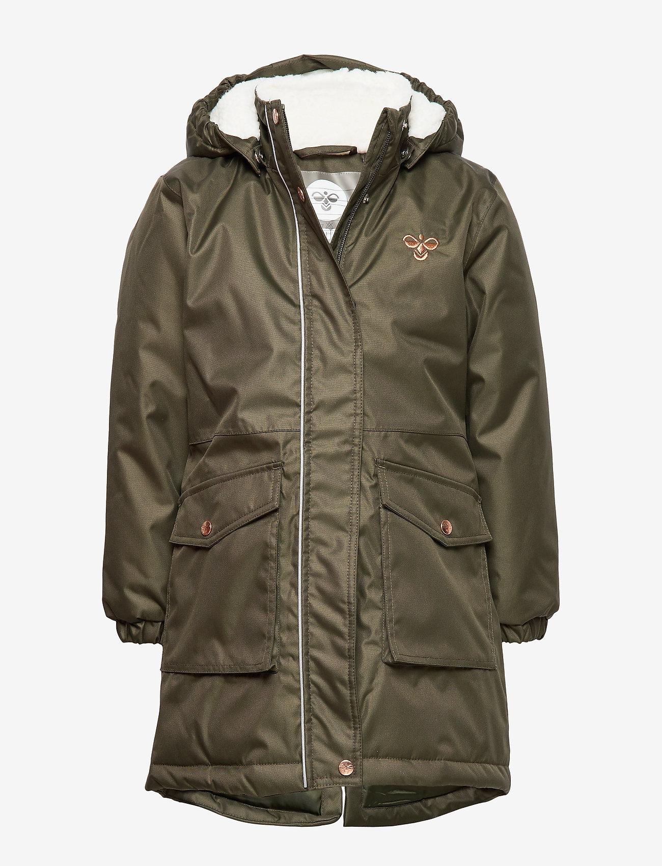 Hummel - hmlLISE COAT - insulated jackets - forest night - 0
