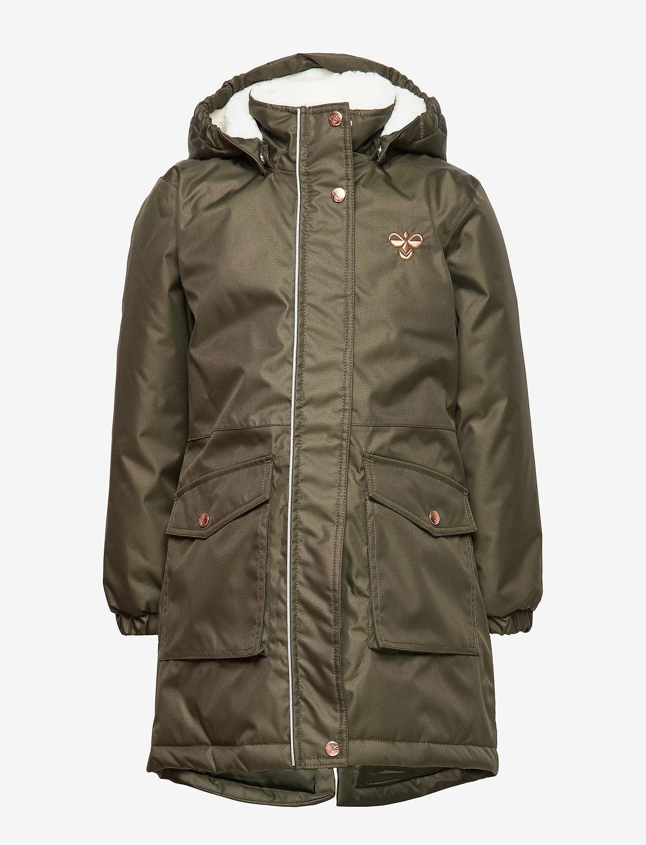 Hummel - hmlLISE COAT - insulated jackets - forest night - 1