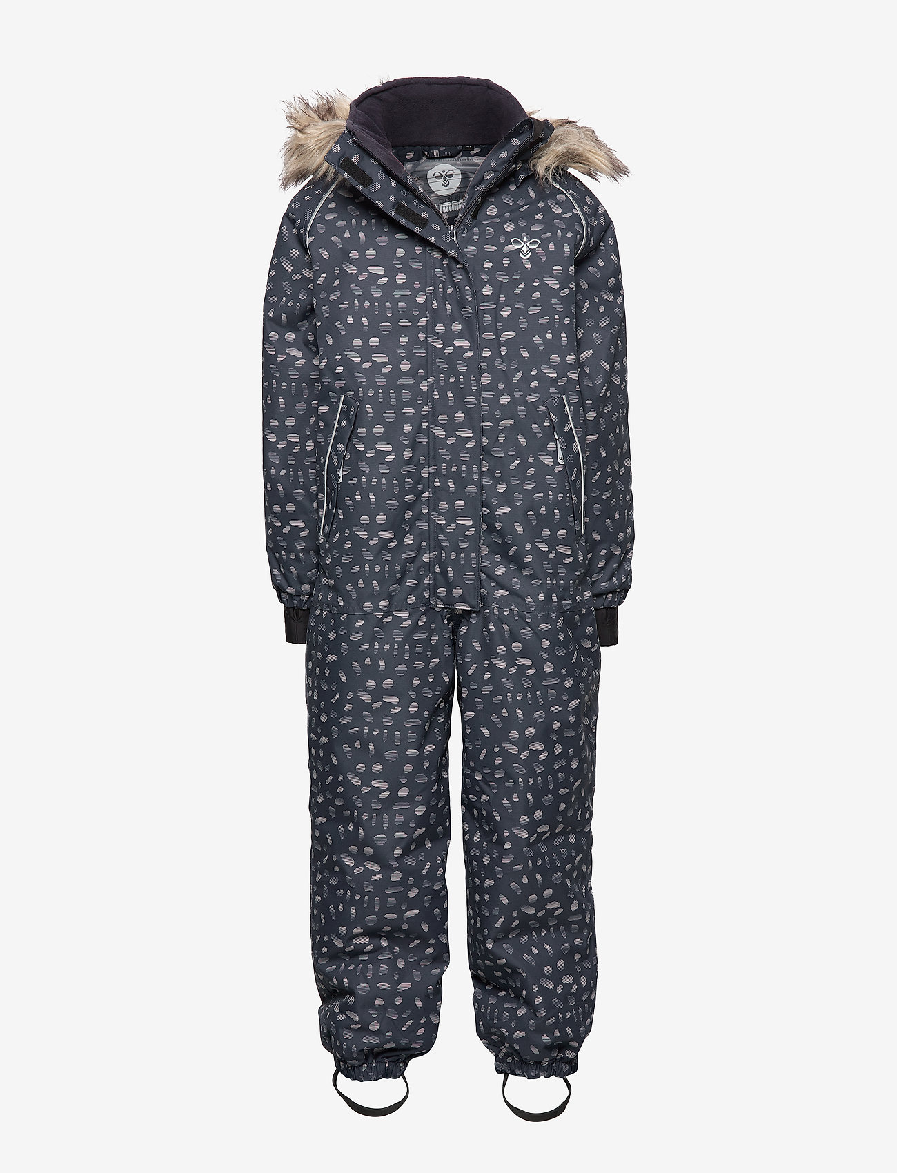 Hummel - hmlBLUSH SNOWSUIT - snowsuit - graphite/shadow grey
