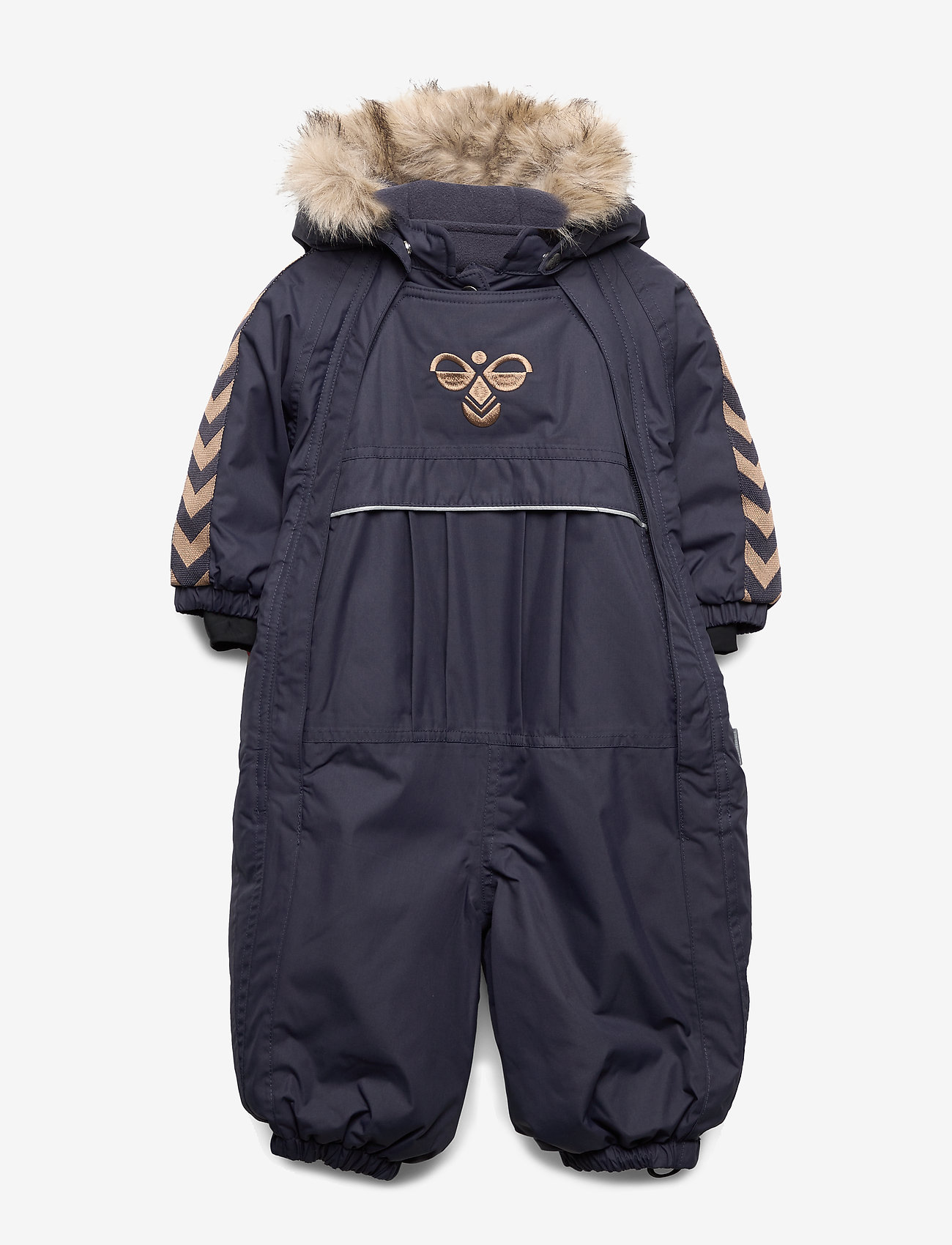 Hummel - hmlMOON SNOWSUIT - snowsuit - graphite - 0