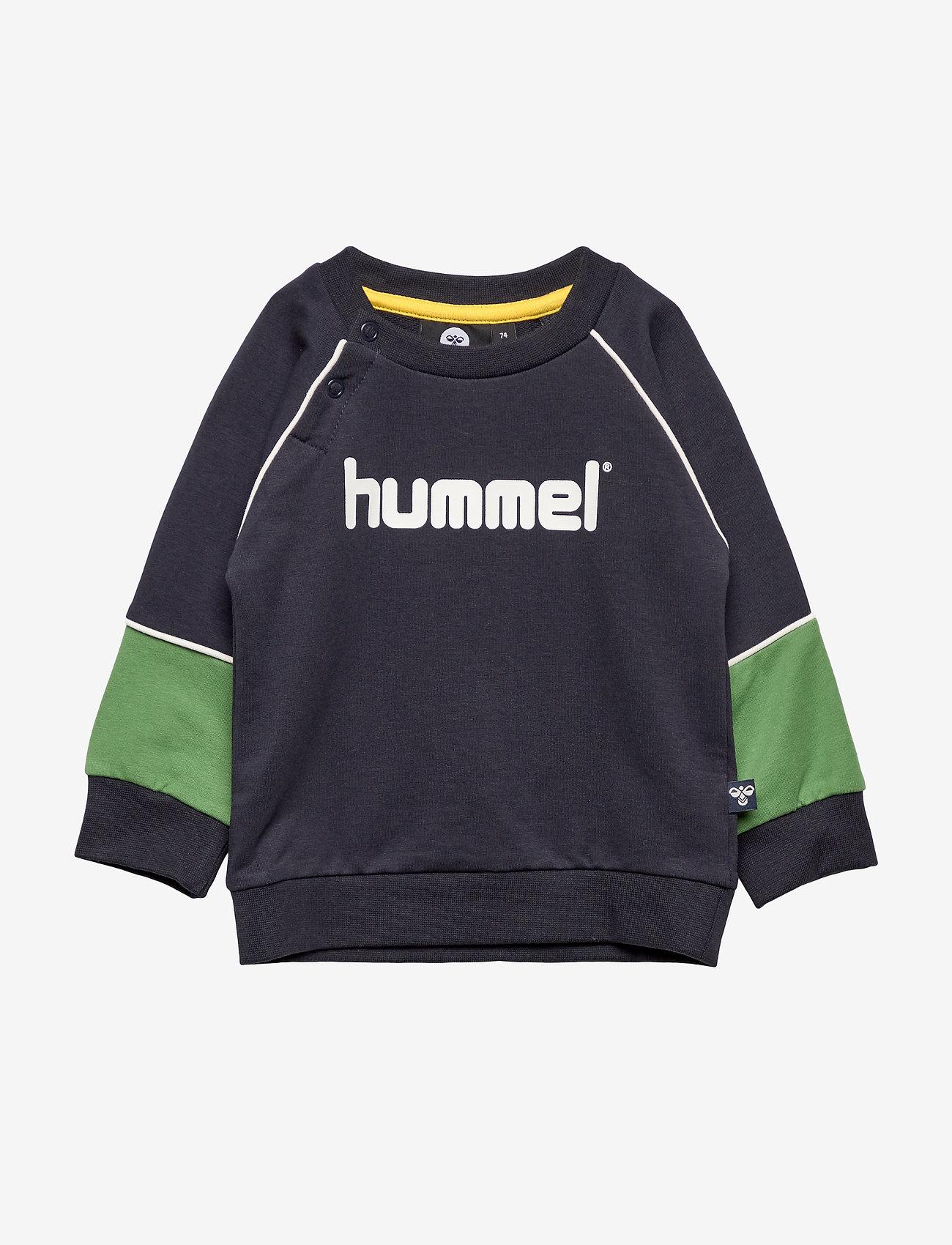 Hummel - hmlJET SWEATSHIRT - sweats - dark navy