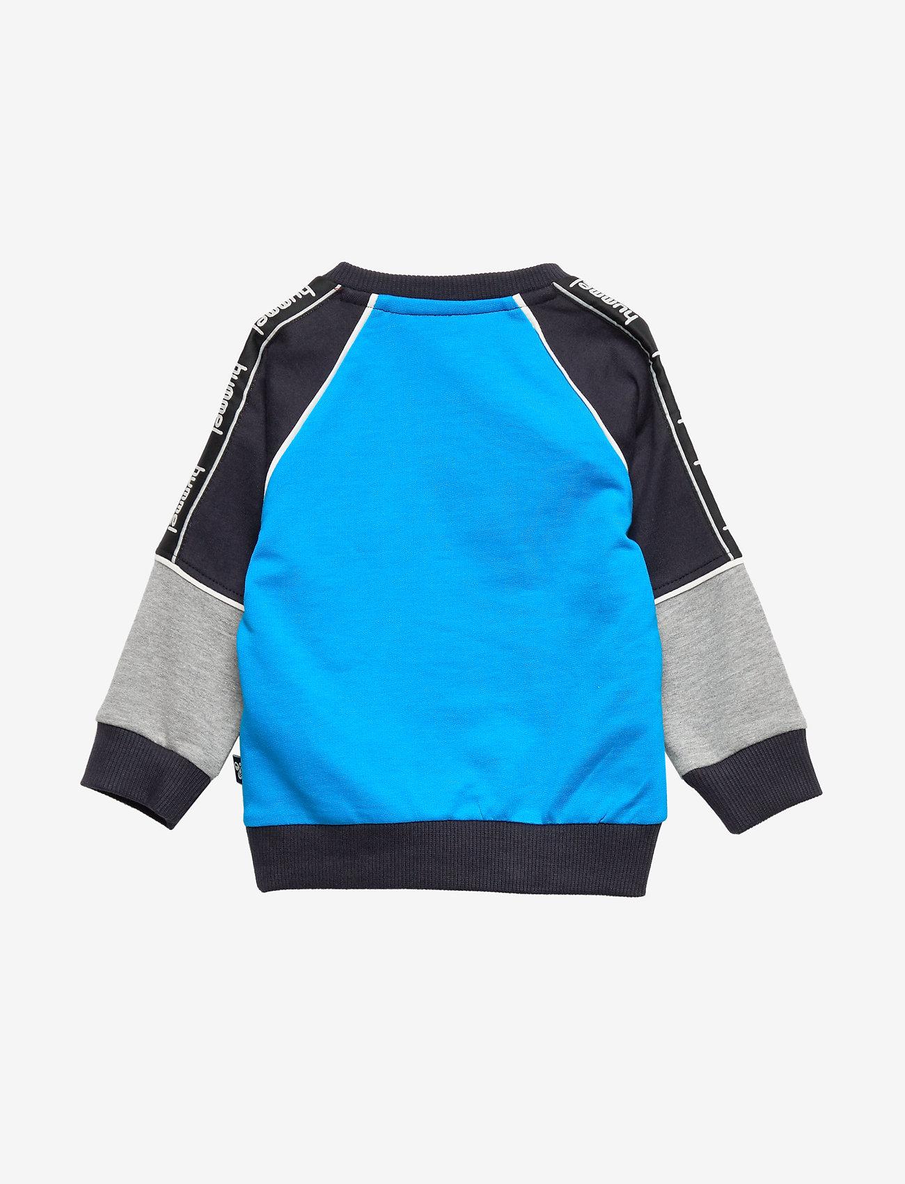 Hummel - hmlREADY SWEATSHIRT - sweats - diva blue