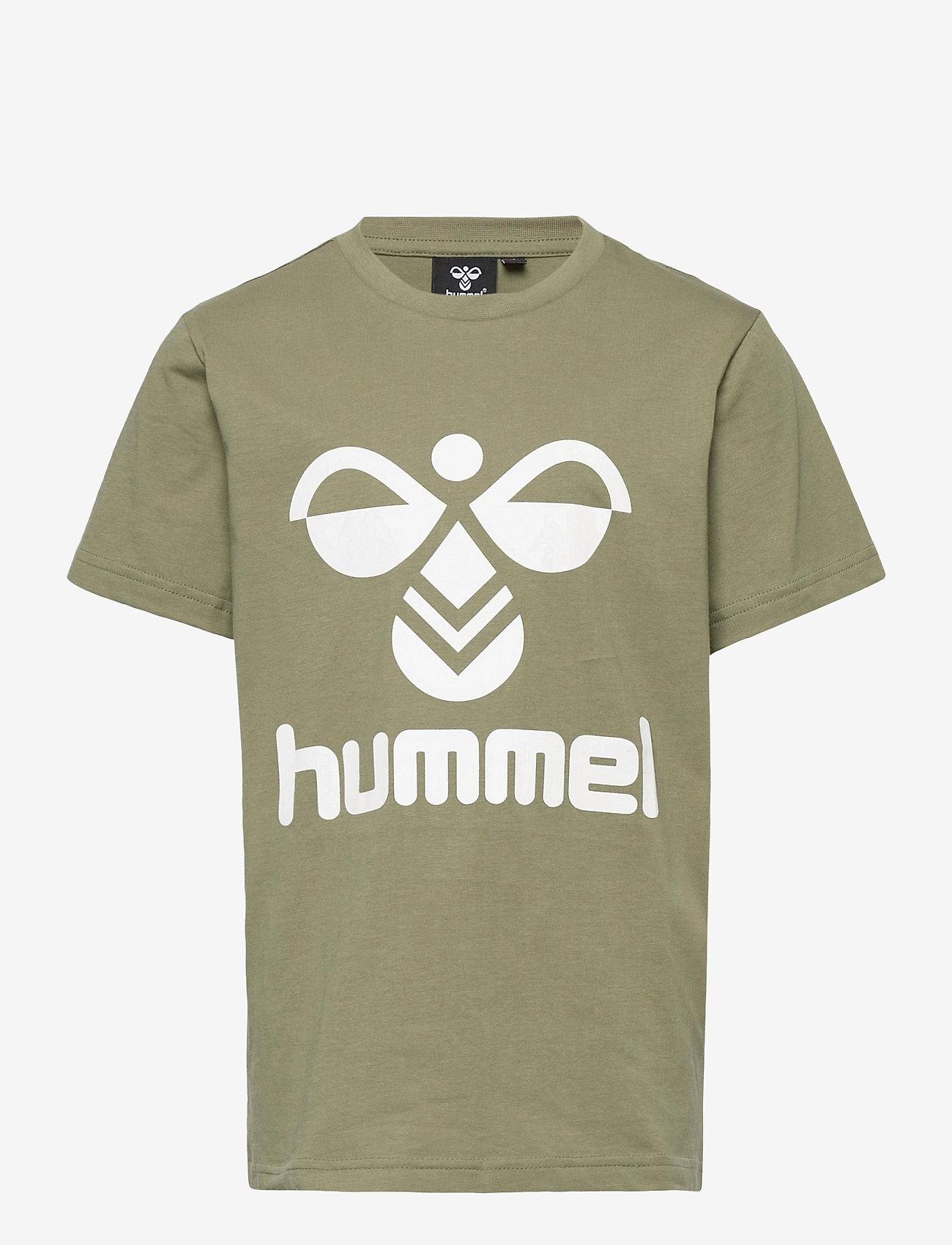Hummel - hmlTRES T-SHIRT S/S - short-sleeved - deep lichen green - 0
