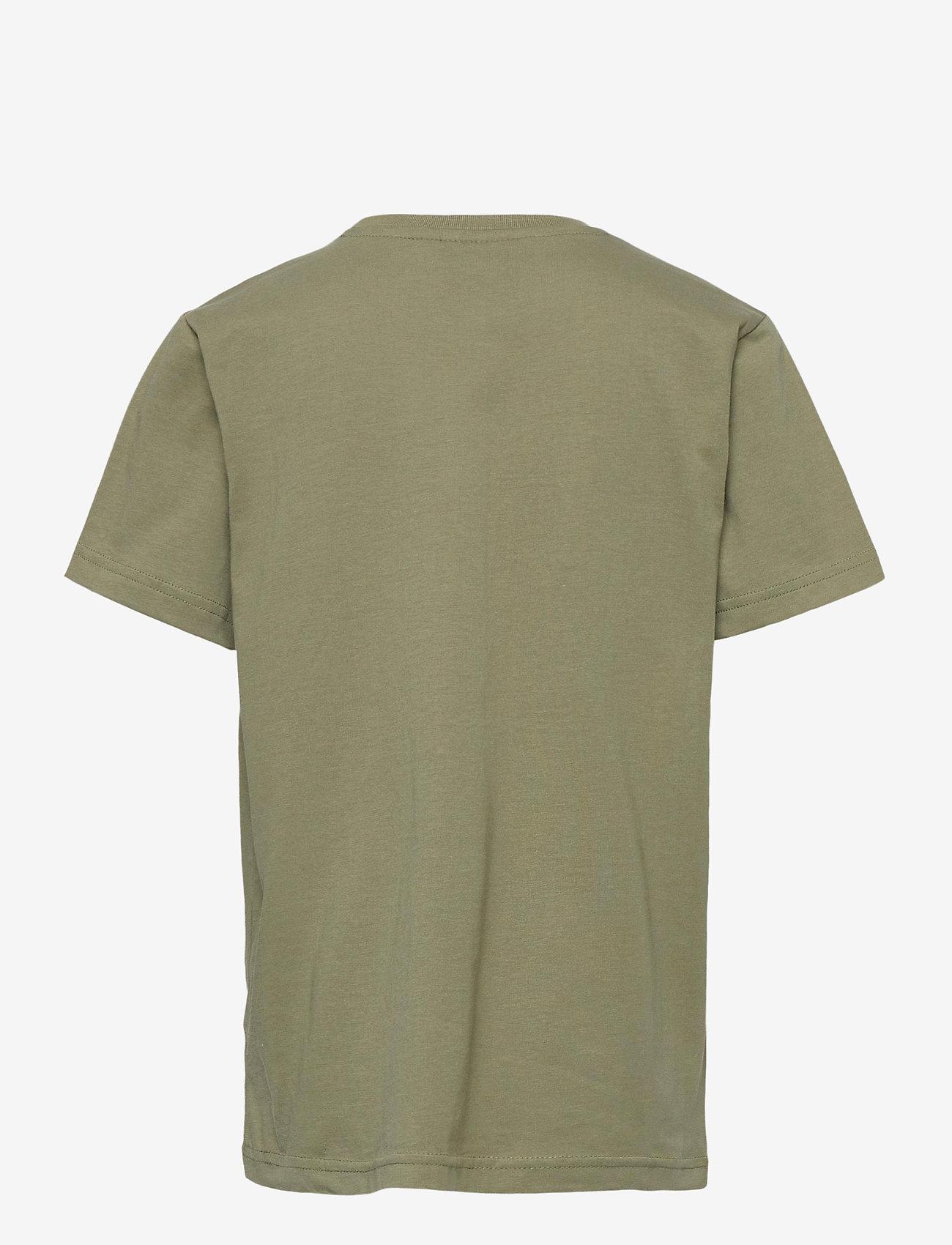 Hummel - hmlTRES T-SHIRT S/S - short-sleeved - deep lichen green - 1
