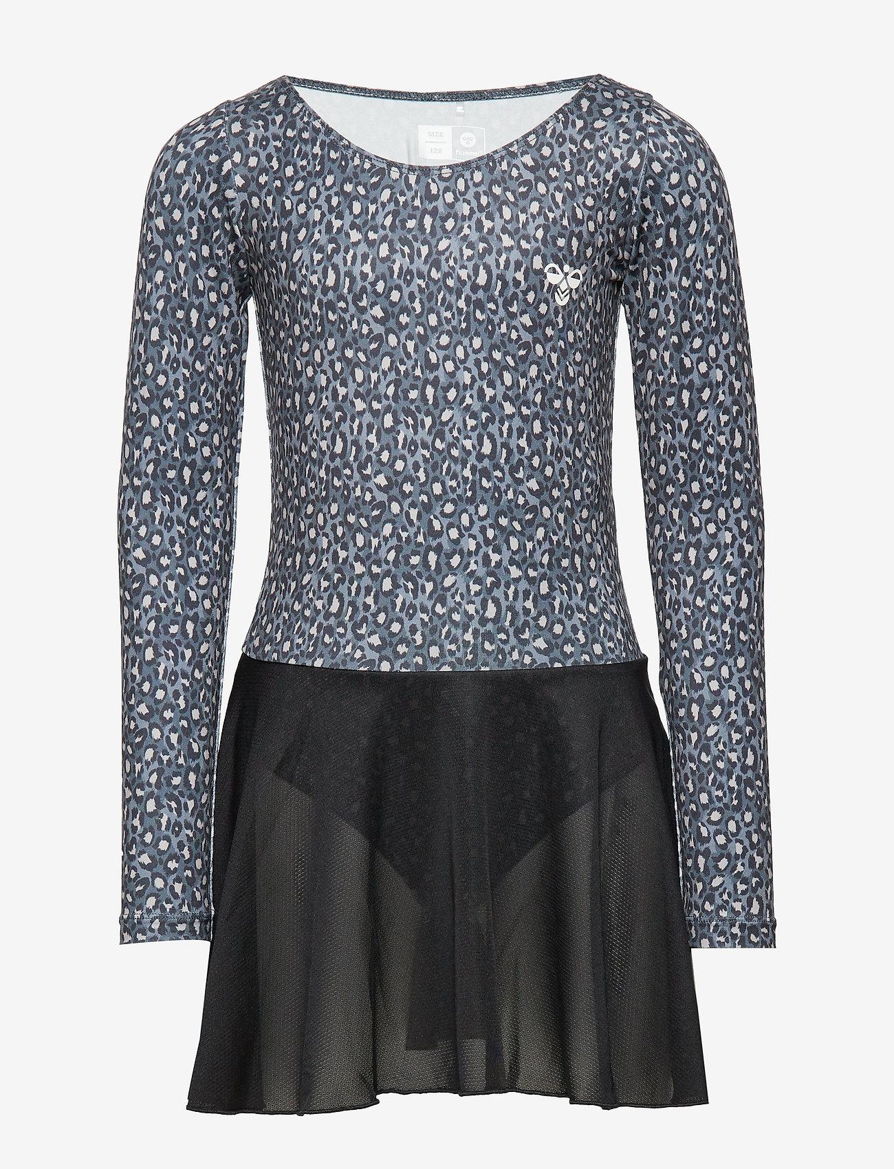 Hummel - hmlFREJA GYM SUIT - robes - black/grey