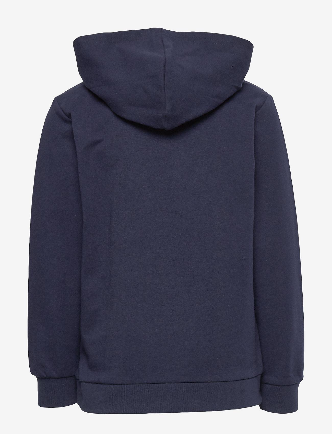 Hummel - hmlCUATRO HOODIE - hoodies - black iris - 1