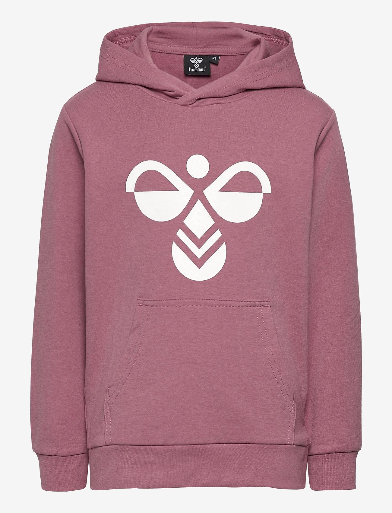 Hummel - hmlCUATRO HOODIE - hoodies - heather rose - 0