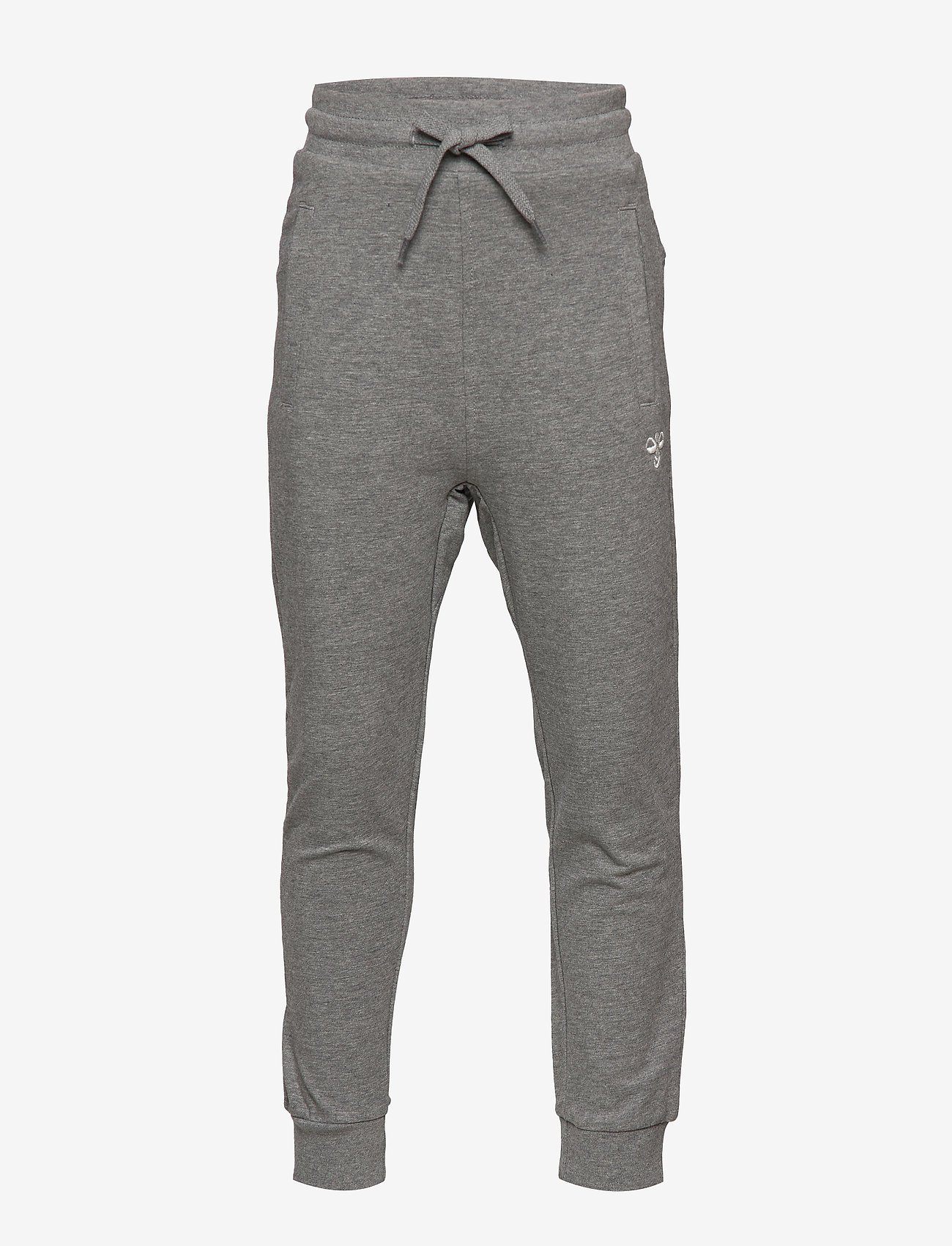 Hummel - hmlPLESS PANTS - sweatpants - medium melange - 0