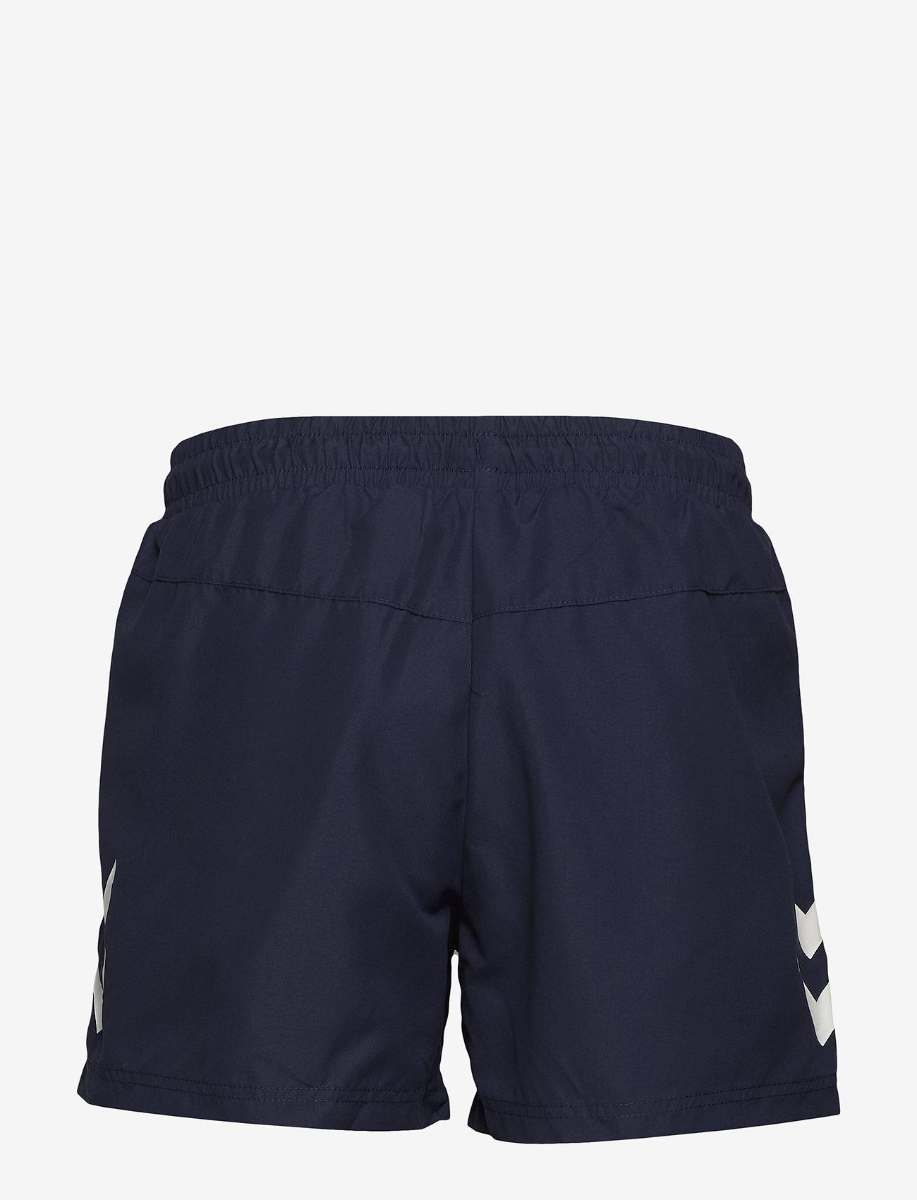 Hummel - hmlRENCE BOARD SHORTS - shorts - peacoat - 1