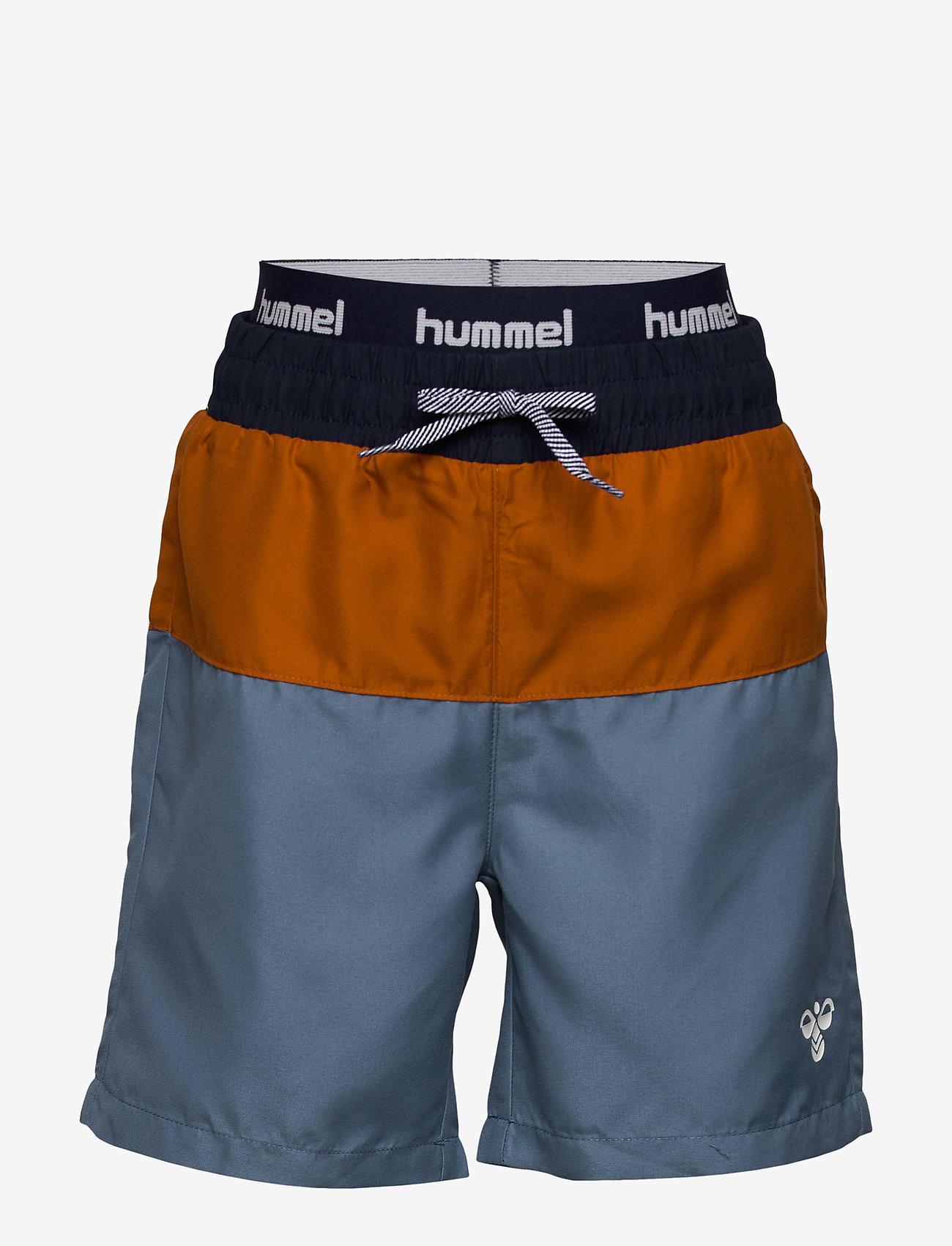 Hummel - hmlGARNER BOARD SHORTS - bademode - copen blue - 0
